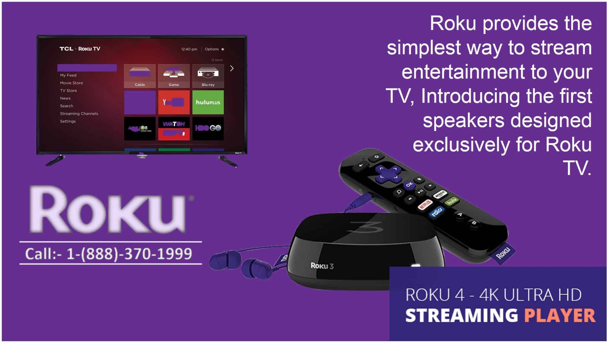 Roku customer support & help number | 1(888)370-1999 |thedevicesupport